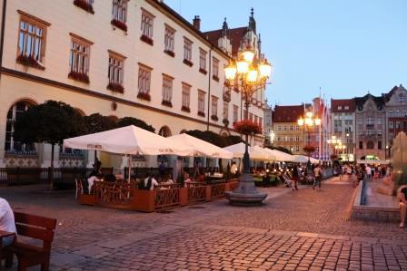 11 RR Polen Breslau Abendstimmung am Ring