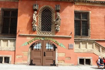 18 RR Polen Schweidnitzer Keller geschlossen