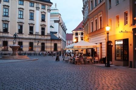 20 RR Polen Abends in Breslau