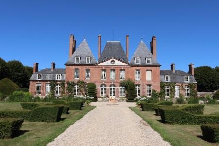 23 Normandie Chateau du Mesnil Geoffroy