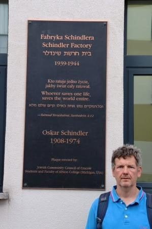 33 RR Polen Krakau Rundgang Museum Oskar Schindler