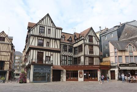 6 Normandie Rouen Stadtführung