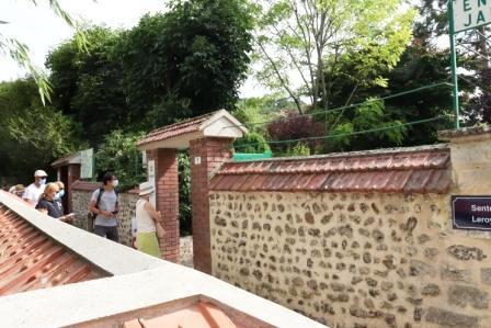 67 Normandie Eingang Garten von Monet