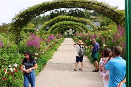 68 Normandie Eingang Garten von Monet