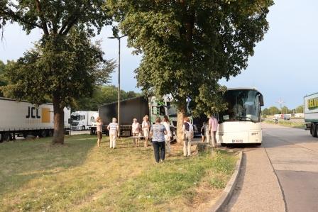 80 RR Polen Rückfahrt Rastplatz Lichtendorf