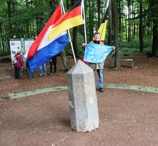8 Trostpflastertour Dreiländerpunkt, der Chef ist überzeugter Europäer