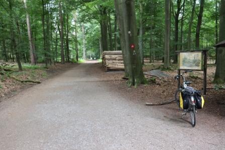 13 Neandersteig mit dem Fahrrad 11. Juli Etappe 16 Hildener Stadtwald