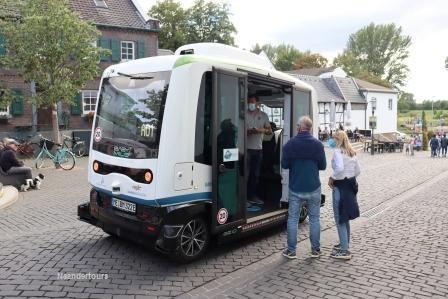 31 Monheim 29. August 5 Fahrt mit dem autonomen Bus