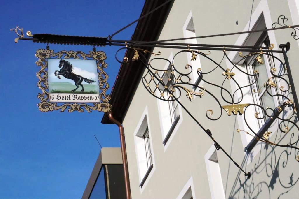 3 Rotenburg Schild Hotel Rappen