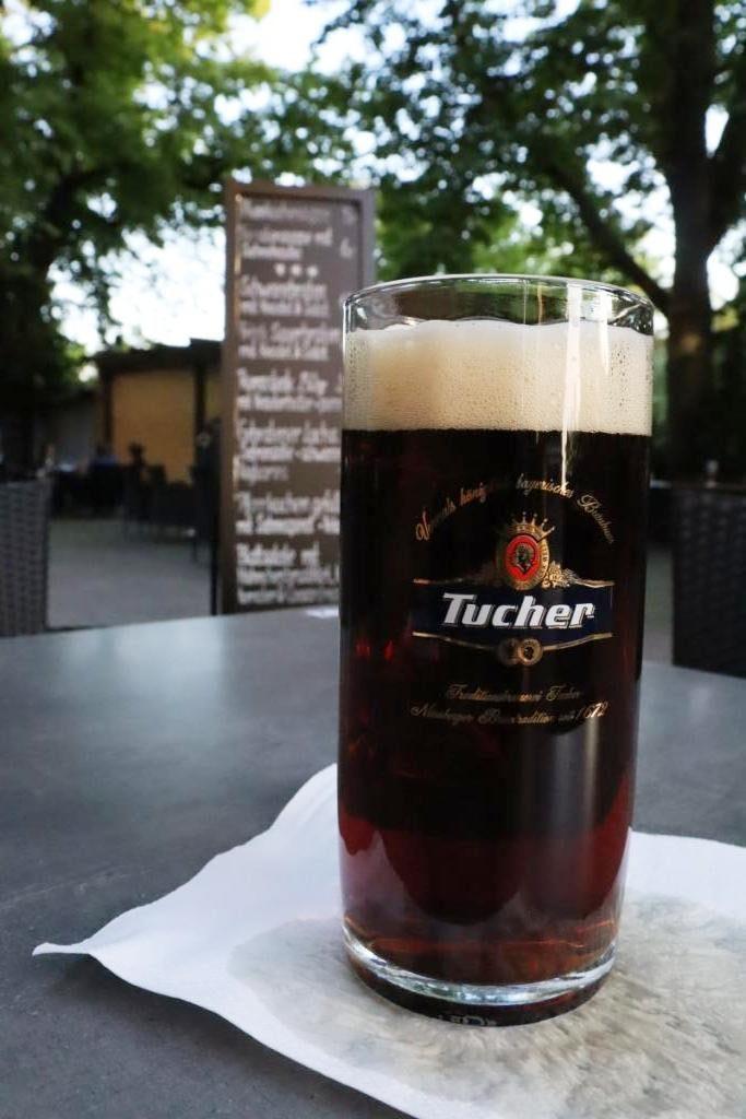 5 Rotenburg im Biergarten