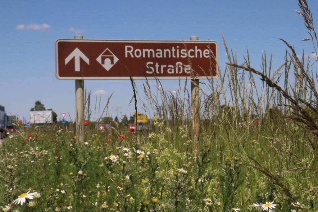 6 Schild romantische Straße