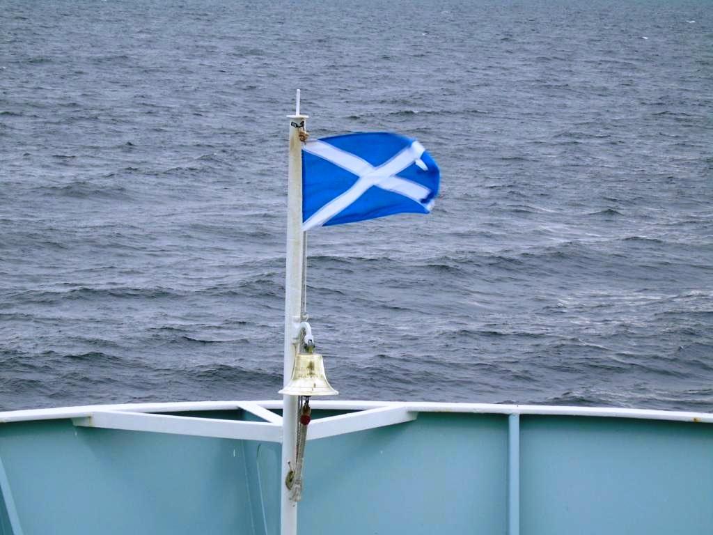 1 auf dem Weg nach Schottland