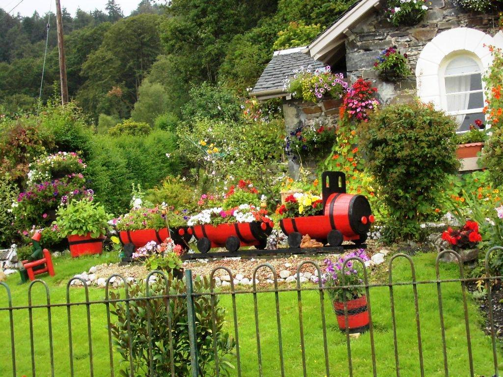 4 gärtliche Idylle in Schottland