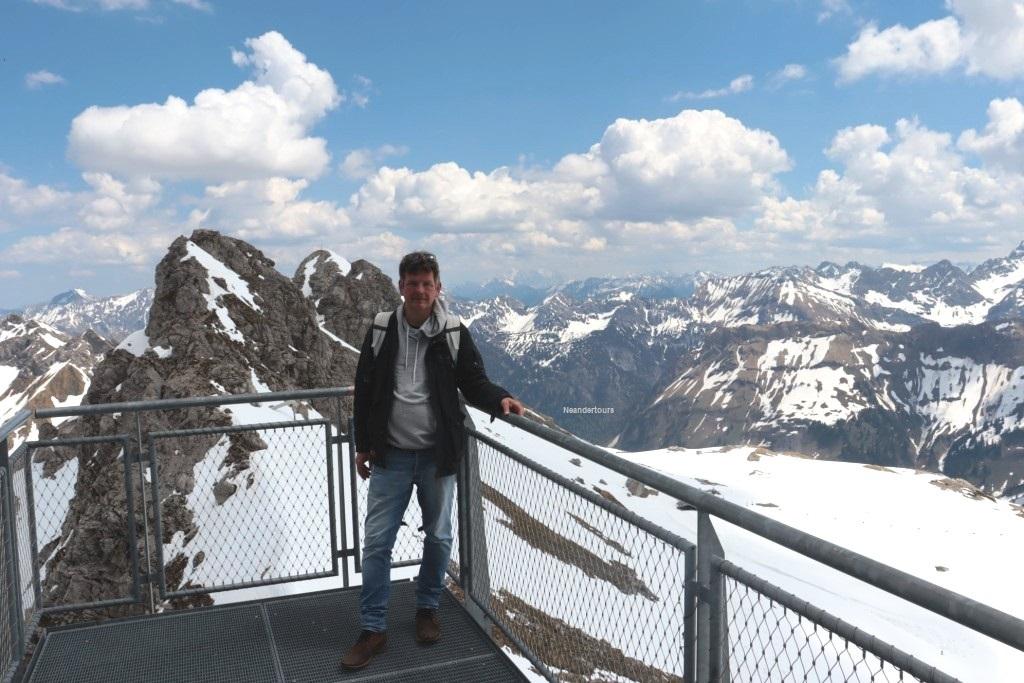 16 Oberstauen Ausflug Nebelhorn der Chef