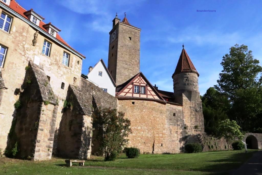 8 Reise Rotenburg Stadtmauer